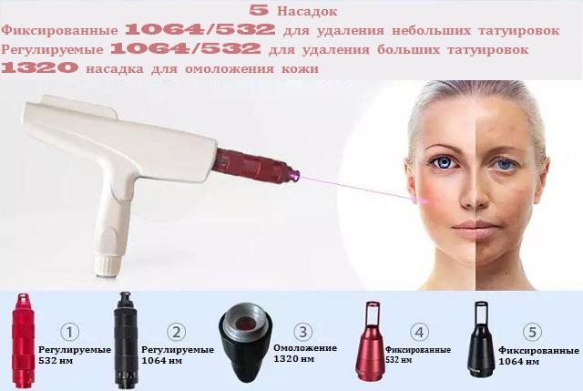 неодимовый лазер в косметологии цена